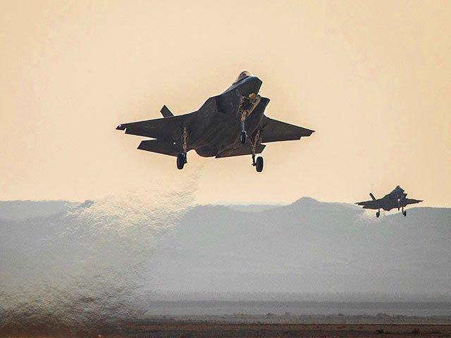 F-35 Израиля, США и Великобритании провели совместные учения