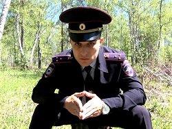 МВД по Красноярскому краю выпустило ролик о грустном участковом в лесу