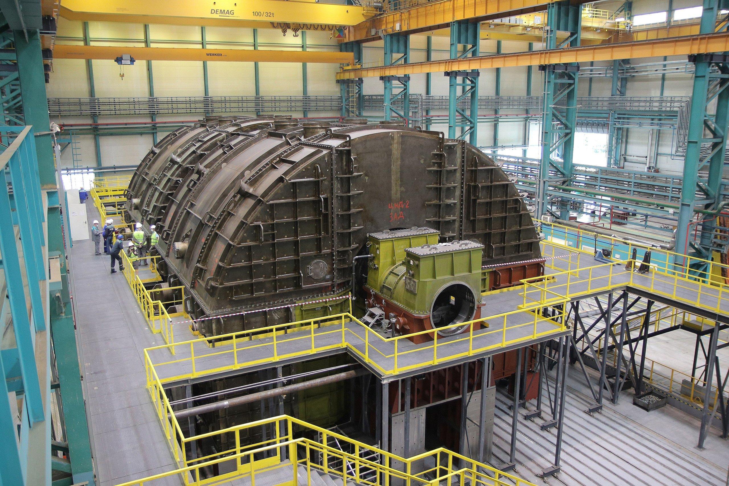 «Силовые машины» создали отечественную тихоходную турбину для АЭС
