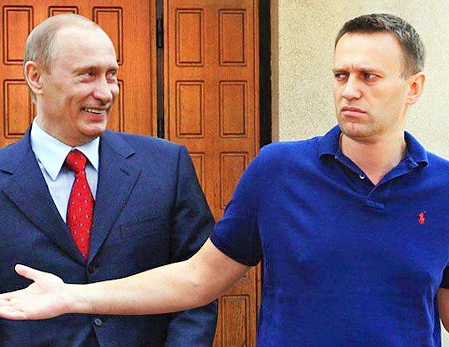 Путин заявил, что Навальный оказался в колонии за уголовные преступления